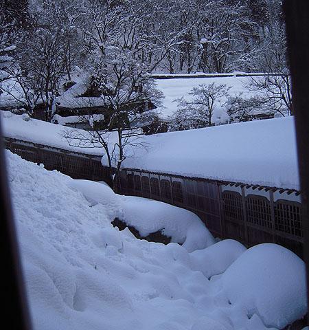 永平寺豪雪④