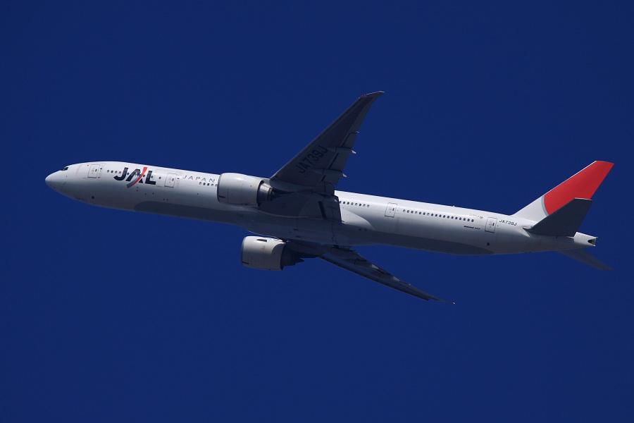 JAL B777-346ER / JAL3002 (JA739J)