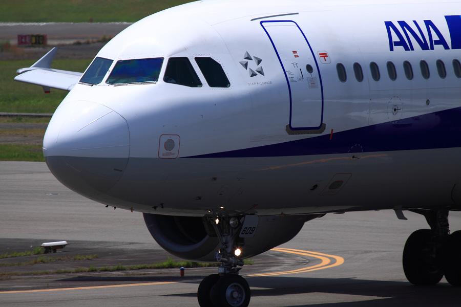 ANA A320-211 / ANA732 (JA8609)