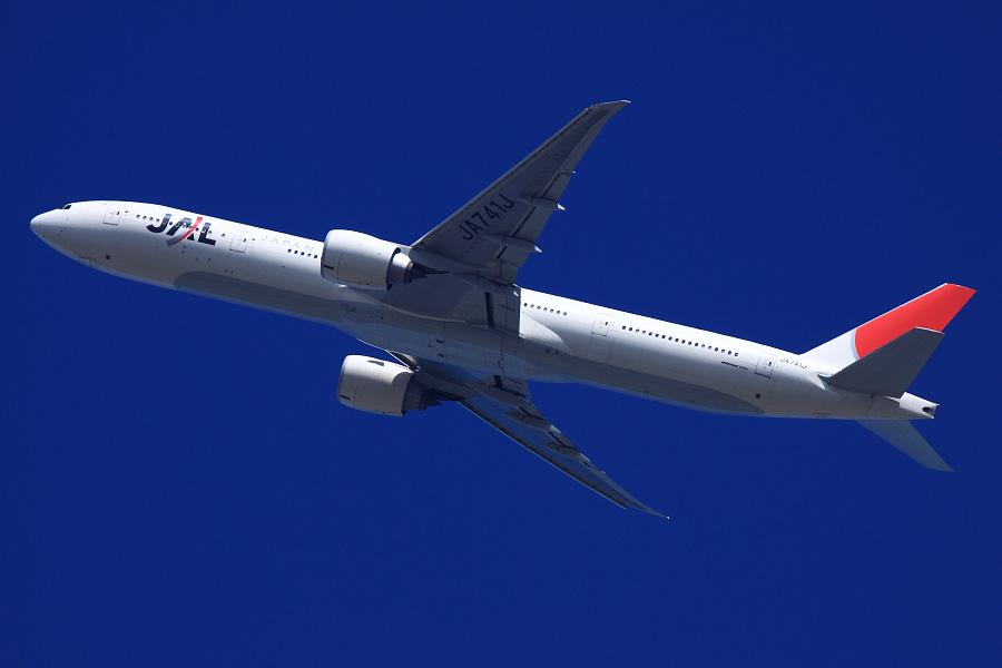JAL B777-346ER / JAL3002 (JA741J)