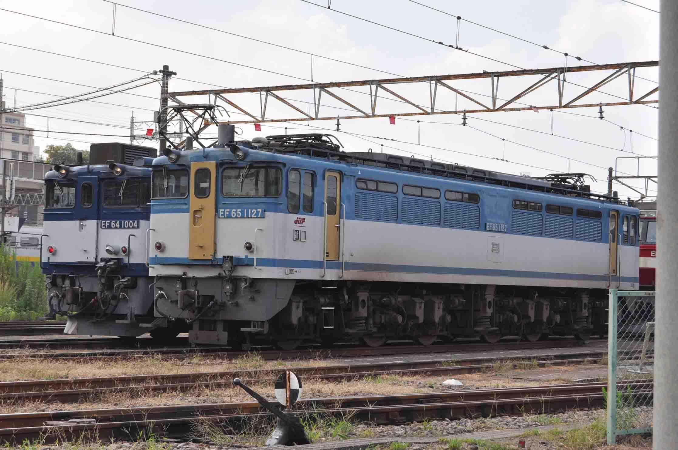 田端EF64&EF65