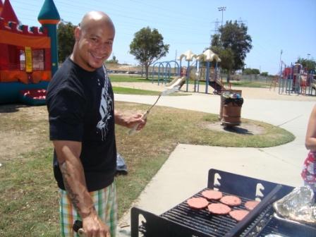 8-28 BBQ part 2 gril