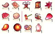 アイテム分類-赤