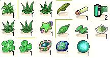 アイテム分類-緑