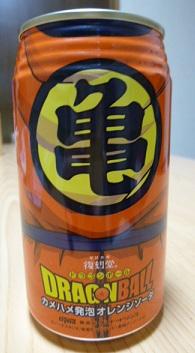 ドラゴンボール缶 亀 120318
