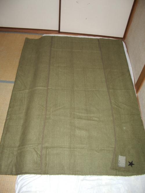 陸軍毛布05