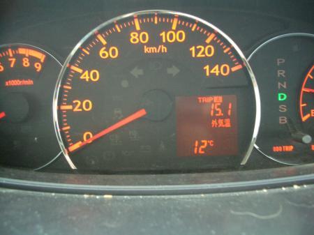車 気温計