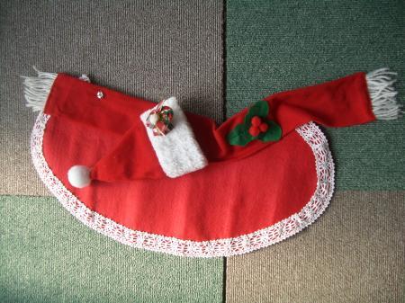 クリスマスケープ&帽子