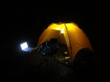 夜テント 360