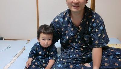 カブトムシ夏パジャマ