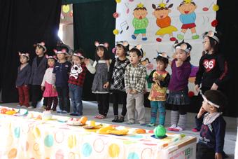 20111126共成保育園お遊戯会・卒園式