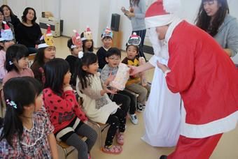 20111209幼稚園クリスマス会