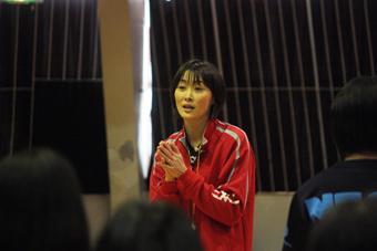 20111218斉藤真由美バレー教室 (1)