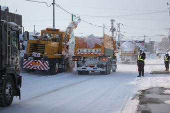20111221排雪作業