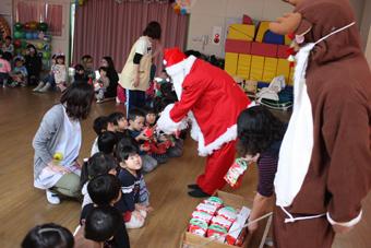 20111222保育園・ぴよぴよクラブクリスマス会