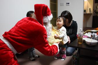 20111224宅配サンタ