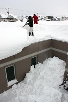 20120117技能協会除雪ボランティア