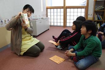 20120126絵本に興味津々 こどもおはなし会