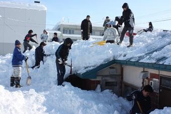 20120128各団体がボランティア (1)