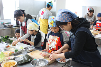 20120129沼田町食生活改善協議会「親子料理教室」