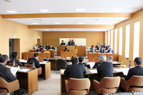 20120308町議会が始まりました