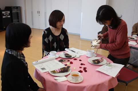 20120310趣味の講座「おいしい紅茶を楽しむための教室」