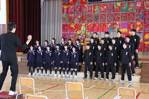 20120313中学校卒業式 (2)
