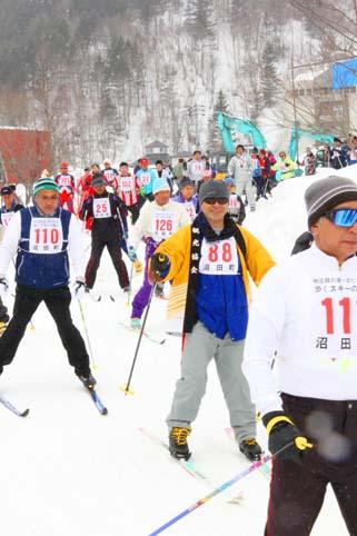 20120325明日萌の里・ほたるの里歩くスキーの集い