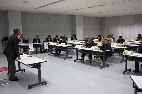 20120329沼田町交通安全協会支部長会議が開催されました