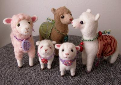 アルパカ&羊