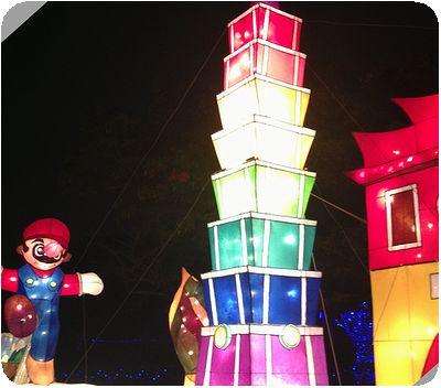 2014台北ランタンフェスティバルマリオ