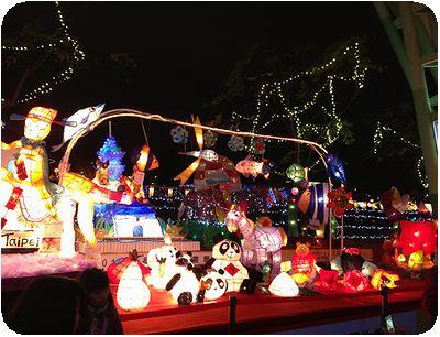 2014台北ランタンフェスティバル馬パンダ
