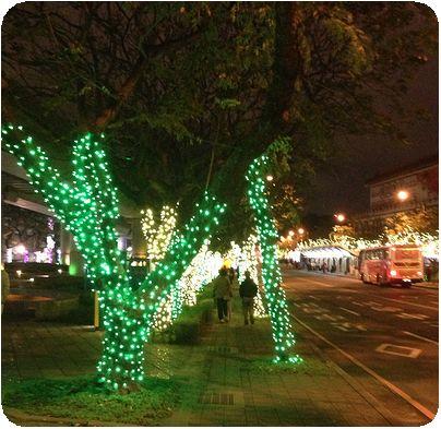 2014台北ランタンフェスティバル緑