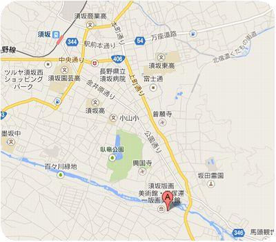 須坂アートパーク地図