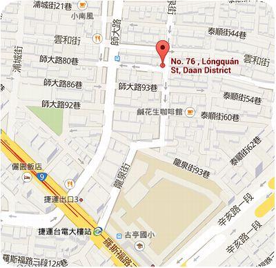 伊洛瓦底泰緬飲食小館地図