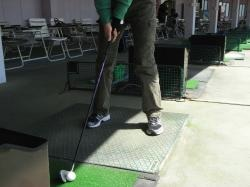 ゴルフ足縮小