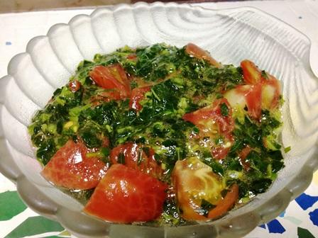 モロヘイヤトマト