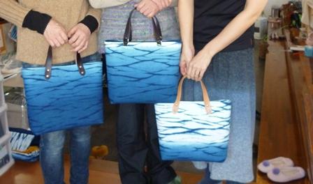富岡の海、トートバッグ完成