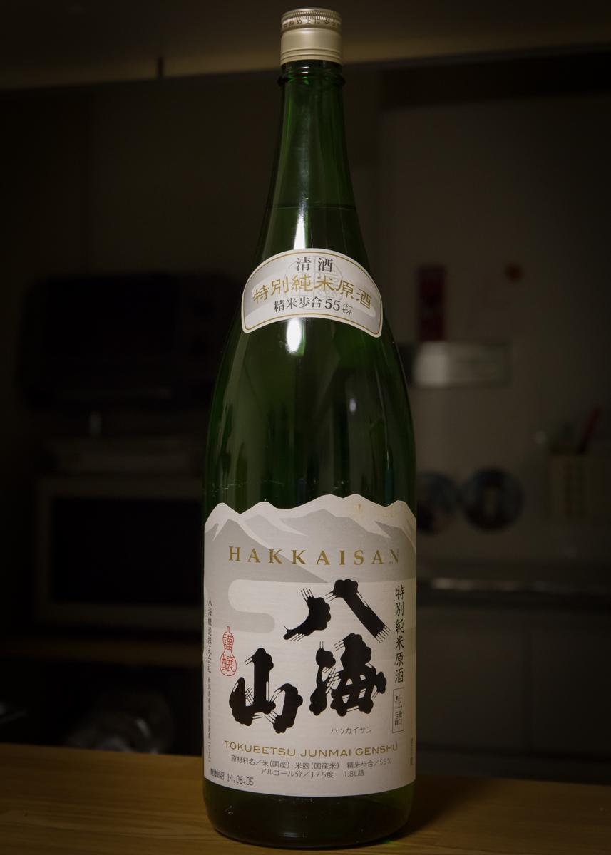 八海山 特別純米生原酒1409(1)