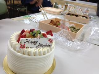 社長のケーキ