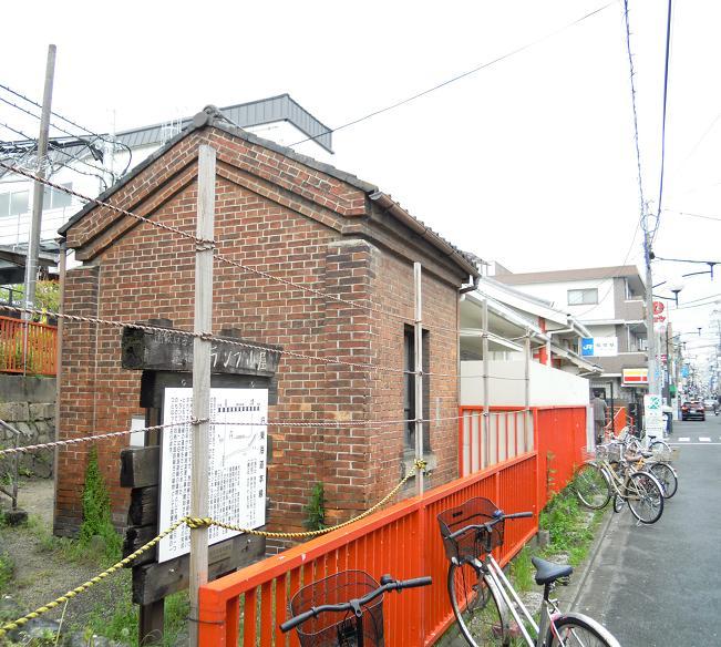 A 稲荷駅ランプ小屋