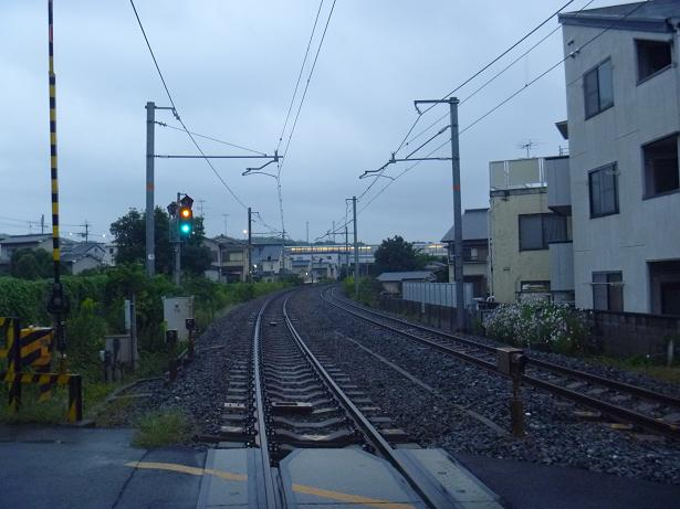 旧東海道本線 深草周辺