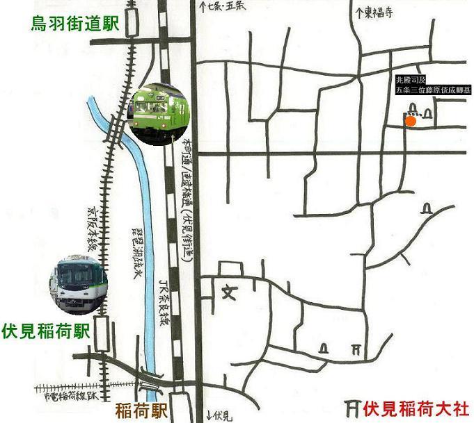 稲荷地図 B