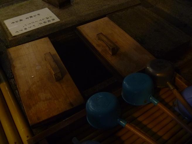 楊谷寺の独鈷水 (4)