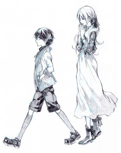 おねえさんと少年