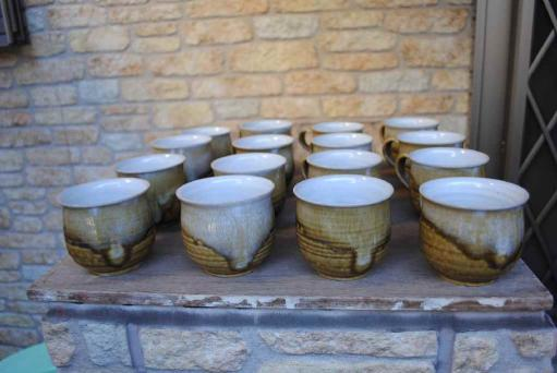 伊羅保のカップ
