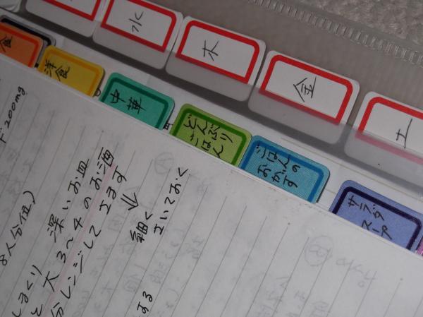 2012年3月31日料理ノートアップ