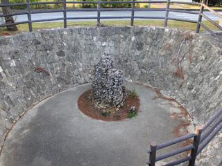 旧七原部落の霊石,沖縄,宮古,史跡