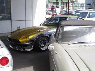 旧車・名車(ハコスカ・ケンメリ・フェアレディーZ・GT-R)の専門店 ロッキーオート