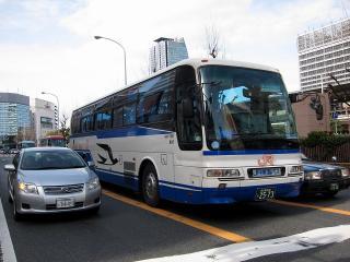 JR東海バス キャッスルシャトル 三菱ふそうエアロバス